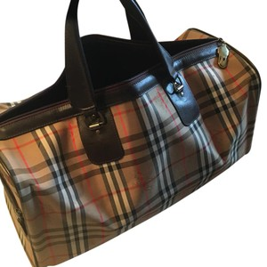 Burberry Monogram Travel Bag