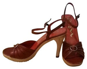 Nina Red Sandals