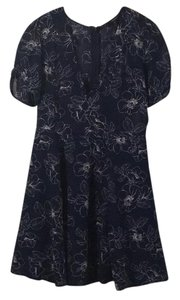Forever 21 short dress Navy with white flowers on Tradesy