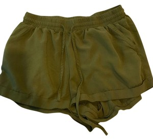 Forever 21 Cuffed Shorts Olive green