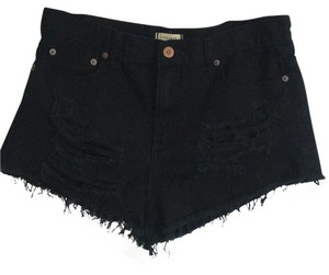 Forever 21 Cut Off Shorts Black