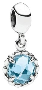 PANDORA PANDORA COOL BREEZE DANGLE CHARM