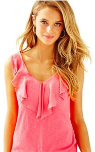 Lilly Pulitzer Beach Top Hot Coral