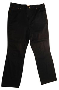 Newport News Size 18 Straight Pants black
