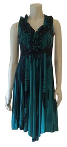 Black Teal Maxi Dress by Guess By Marciano
