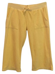 Juicy Couture Capri/Cropped Pants Yellow