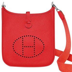 Hermès Evelyne Tpm Bougainvillier Cross Body Bag