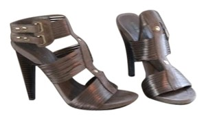 Nine West Pewter Sandals