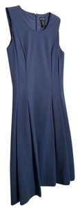 Lord & Taylor Sleeveless Pleated Dress
