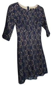 A.B.S. by Allen Schwartz Lace 3/4 Sleeve Dress