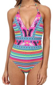 Nanette Lepore Flora Fiesta Goddess One Piece Swimsuit