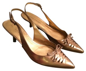 Marc Fisher Antique gold Pumps