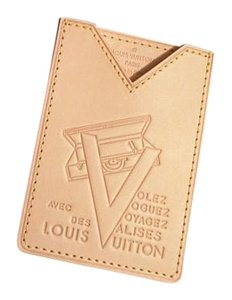 Louis Vuitton Louis Vuitton Vachetta V Voyager Card Case Holder