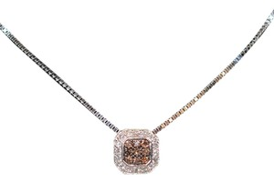 LeVian Delicious Levian .50tcw Diamond 14kt White Gold Pendant Necklace