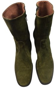 J.Crew Green Boots