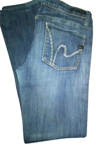COH (Citizens Of Humanity) Boot Cut Jeans-Medium Wash
