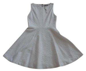 Alice + Olivia short dress White With Pattern Detail on Tradesy