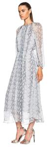 ZIMMERMANN Date Special Ocassion Snake Print Romantic Boho Dress