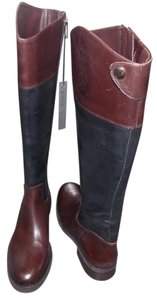 Vince Camuto black/brown Boots