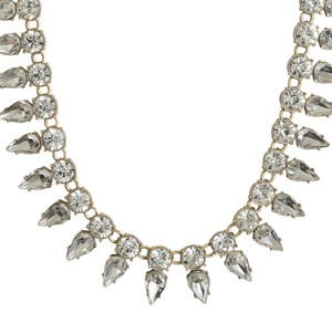 J.Crew STONE DROPS NECKLACE