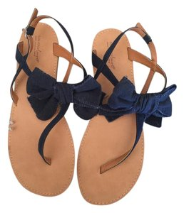 4ae045a37035 Blue Zara Sandals - Up to 90% off at Tradesy
