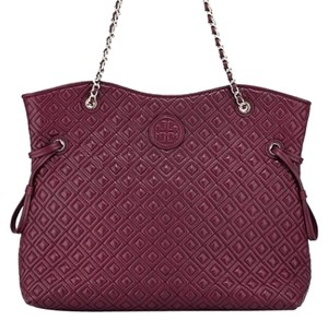 Tory Burch Satchel in Red Agate