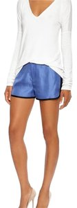 Rag & Bone Dress Shorts Blue
