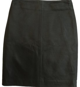 AllSaints Leather Lucille Mini Mini Skirt