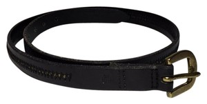 Ralph Lauren RALPH LAUREN LEATHER BELT Style# 326 1177186 Black