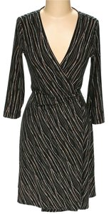 BCBGMAXAZRIA Print Wrap Dress