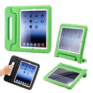 Other Kid Friendly iPad Mini protective case in Lime Green