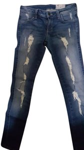 Sivvy Skinny Jeans-Distressed
