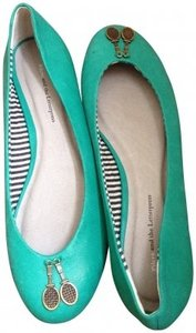 J.Crew Tennis Casual mint/teal Flats