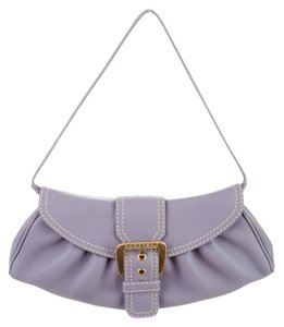 Céline Light Purple Clutch