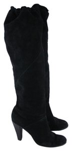 MICHAEL Michael Kors Knee High Heel Black Boots