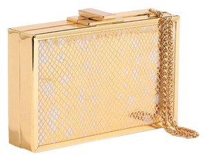 Halston Gold Clutch