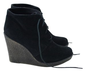 Kelsi Dagger Wedge Ankle Bootie Suede Boots