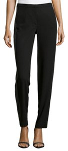 Halston Straight Pants Black