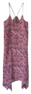 Forgiveness (Forever 21) short dress Multicolored pink, burgandy, white on Tradesy