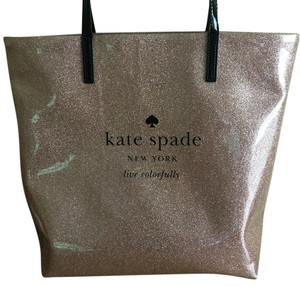 Kate Spade Tote in Mauve And Gold