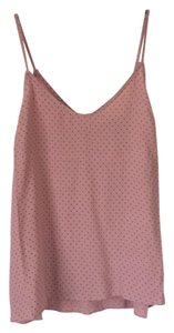 Forever 21 Top Mauve with black dots