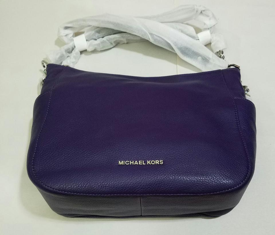 f1499d12c3b92 Michael Kors Large Convertible Iris Leather Shoulder Bag - Tradesy