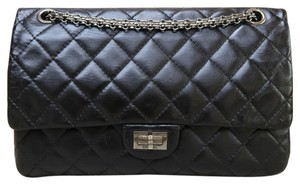 Chanel Reissue 226 Flap Satchel in Black