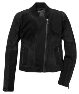 Theory Suede New With Tags Motorcycle Jacket