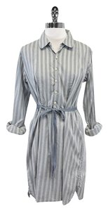 Marc by Marc Jacobs short dress Blue & White Striped Cotton on Tradesy