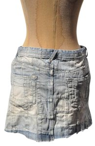 Polo Ralph Lauren Denim Denim Jean Mini Skirt Blue