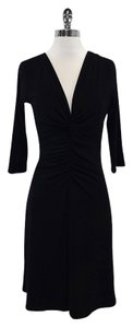 Laundry by Shelli Segal short dress Black Plunge Neckline on Tradesy