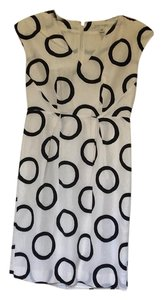 Banana Republic short dress White, black on Tradesy