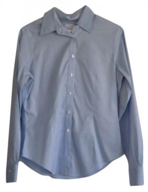 Preload https://item5.tradesy.com/images/brooks-brothers-baby-blue-light-non-iron-button-down-top-size-10-m-191814-0-0.jpg?width=400&height=650