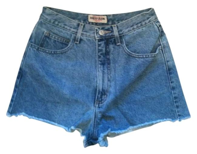 Guess Cut Off Shorts blue
